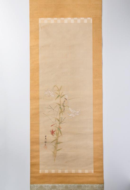 花鳥図 狩野探幽 江戸時代初期