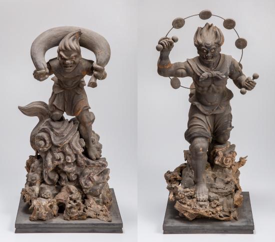 風神・雷神立像 鎌倉時代(1185〜1333年)