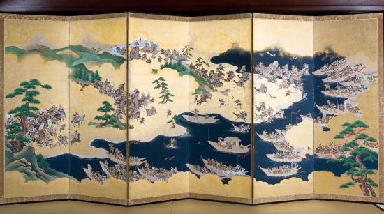 源平合戦屏風 江戸時代初期(1600年頃)